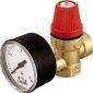 купить Caleffi мембранный клапан с манометром 1/2`х3/4`х3,0 ВВ