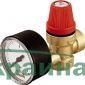 Caleffi мембранный клапан с манометром 1/2`х2,5 ВВ