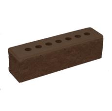Кирпич Литос узкий колотый с фаской шоколад