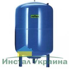 Гидроаккумулятор вертикальный Reflex Refix DE 7305500 33L DE (синий) 10 бар, на ножках (мембрана не сменная)