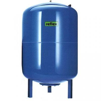 Гидроаккумулятор вертикальный Reflex Refix DE 7305500 33L DE (синий) 10 бар, на ножках (мембрана не сменная) цены