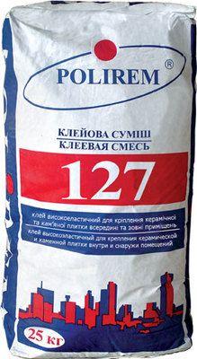 Polirem 127 высокоэластичная клеевая смесь для плитки