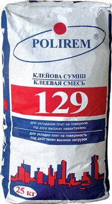 Polirem 129 клей для плитки усиленный цена