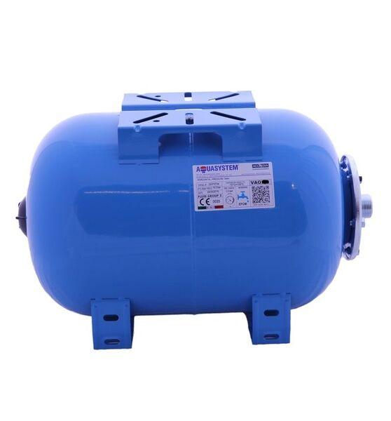 Гидроаккумулятор Aquasystem VAO 50 (50л горизонтальный, фланец 145)