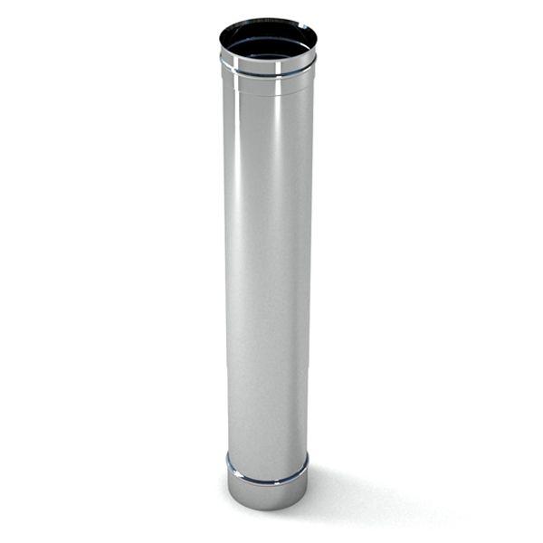 ТРУБА из нержавеющей стали (AISI 321) 0,8 мм; L=1000 мм ф125