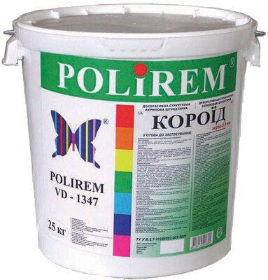 """Polirem VD-1347 Декоративная штукатурка """"короед"""" 2 мм цена"""
