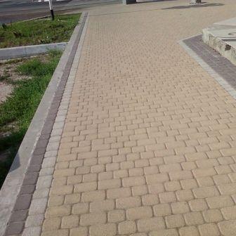 Тротуарная плитка Старая площадь 300х300 (персиковый) для пешеходной зоны (4 см) цена