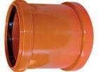 купить WAVIN EKOPLASTIK Муфта двухраструбная, класс S; 110 (3062682026) для наружной канализации