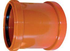 WAVIN EKOPLASTIK Муфта двухраструбная, класс S; 250 (3264502050) для наружной канализации