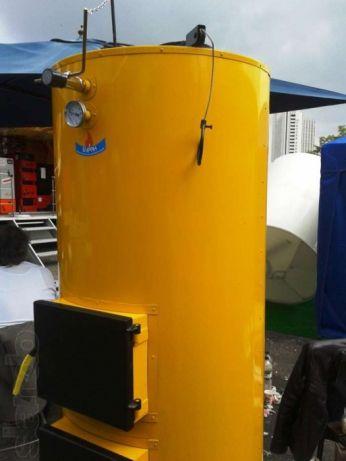 Твердотопливный котел длительного горения Буран 12 У (чугунный колосник)