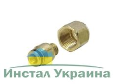"""KAN Соединитель для многослойных труб Системы KAN-therm 16 G1/2"""" 9012.00"""