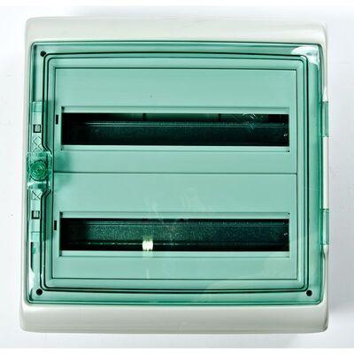 Schneider electric Щит навесной 2 ряда 36 модулей прозрачные двери IP65 (13984) цена