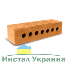 Кирпич Литос узкий колотый с фаской терракот