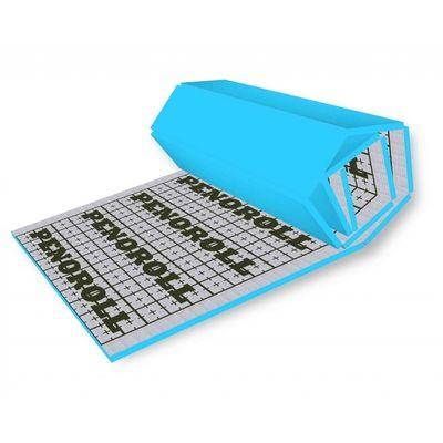 Мат под тёплый пол с разметкой, теплоотражающий 50 мм. Плотность 35кг/м3 ширина 0,6 цена