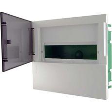 Schneider electric Щит встроеный MINI PRAGMA 1 ряд 12 модулей дымчатые двери (MIP22112T)