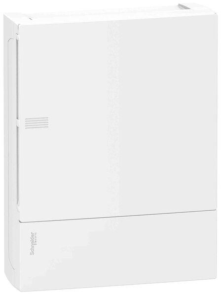 Schneider electric Щит навесной MINI PRAGMA 2 ряда 24 модуля белые двери (MIP12212)