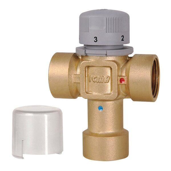 ICMA 143 Термостатический смеситель (20-65 C) 3/4'' (90143AE05)