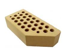 Кирпич керамический лицевой фасонный ЦФ-2 желтый цена