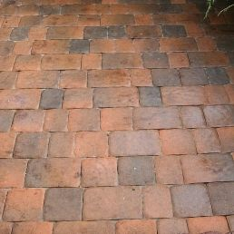 Тротуарная плитка Старая площадь 300х300 (латина) для пешеходной зоны (4 см)