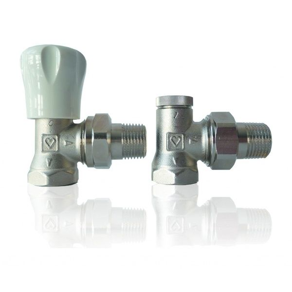 Комплект для подключения радиатора Herz GP+RL-1 угловой