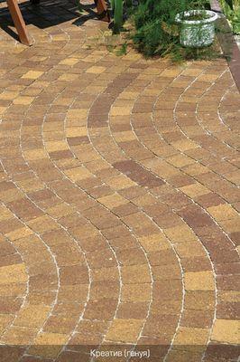 Тротуарная плитка Креатив (генуя) (6 см) цены