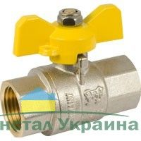 Газовый шаровый кран Solomon 1 1/4` ВВ жр PN40