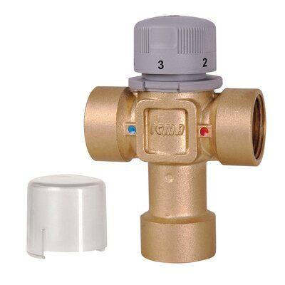 ICMA 149 Термостатический смеситель (30-60 C) 1'' (90149AF05) цены