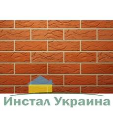 Клинкерный кирпич ТМ Керамейя Рустика Рубин 3