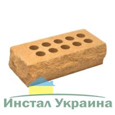 Кирпич Литос стандартный Скала тычковой терракот