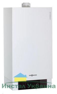 Газовый котел Viessmann Vitodens 200-W 35 кВт B2HA074 с Vitotronic 100 (постоянная температура подачи), одноконтурный