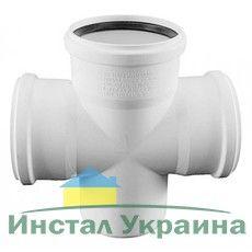 Rehau для внутр. канализации Крестовина одноплоскостная RAUPIANO PLUS 110/110/110 - 45