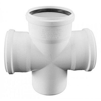Rehau для внутр. канализации Крестовина одноплоскостная RAUPIANO PLUS 125/110/110 - 45 цена