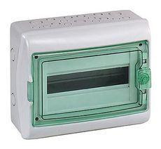 Schneider electric Щит навесной 1 ряд 12 модулей прозрачные двери IP65 200х267х112 мм (13979)