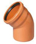 купить Ostendorf отвод DN 110х87 для наружной канализации