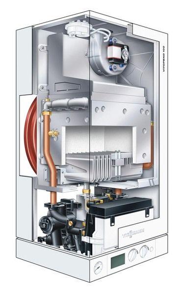 Газовый котел Viessmann Vitopend 100 WH1D518 (Atmo) 27 кВт, Двухконтурный
