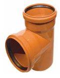 купить Ostendorf тройник DN 200/150 87 для наружной канализации