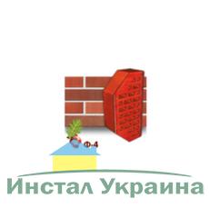 Клинкерный кирпич фасонный Ф4 Керамейя Магма Коралл