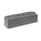 купить Кирпич Литос узкий скала полнотелый серый