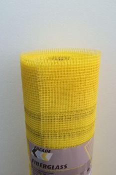 Masterplast Сетка фасадная желтая 5х5 145 г/кв.м. цены