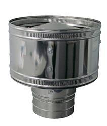 ОКОНЧАНИЯ (Конус) из нержавеющей стали (AISI 304) с термоизоляцией в нержавеющем кожухе (AISI 304) ф300/360
