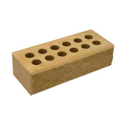 Кирпич Литос стандартный колотый с фаской желтый