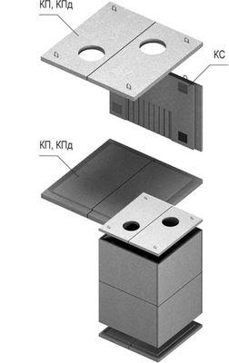 Сборная теплокамера КПд-4 цены