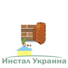 Клинкерный кирпич фасонный Ф6 Керамейя Янтарь