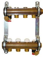 Herz комплект штанговых распределителей для напольного отопления 12-ходовой (1 8534 12)