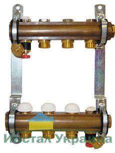 Коллектор Herz для теплого пола без расходомера 14-ходовой