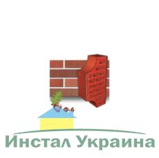 Клинкерный кирпич фасонный Ф6 Керамейя Рубин