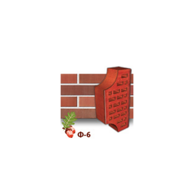 Клинкерный кирпич фасонный Ф6 Керамейя Рубин цены