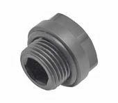 """KAN-therm Заглушка для проверки герметичности - короткая - сервисный элемент G1/2"""" (6095.33)"""