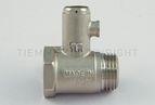 купить Tiemme предохранительный клапан для водонагревателя без ручки 1/2` 8,5 бар (1930002)