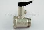купить Tiemme предохранительный клапан для водонагревателя с ручкой 1/2` 8,5 бар (1930001)